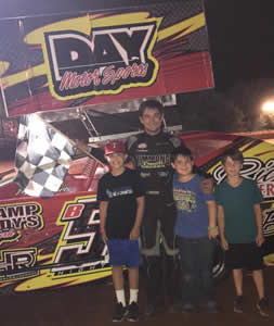 Brandon Hightower returned to Sabine Motor Speedway (Many, Louisiana) on Saturday night powering his brand new Bicknell Racing Products #B52 Winged Modified ...